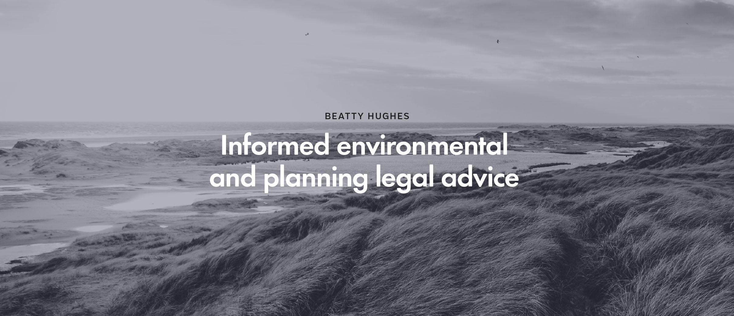 Beatty Hughes Sydney environment law firm